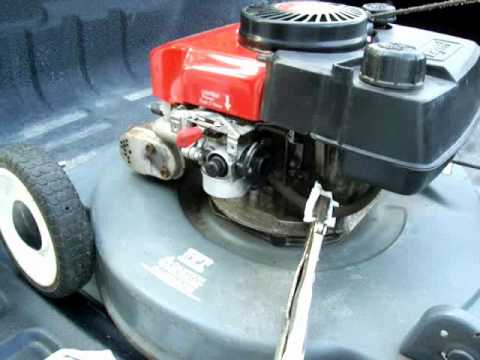 How to clean out the carb on a small engine