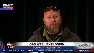 GAS WELL EXPLOSION: Oklahoma rig explosion leaves 5 missing (FNN)