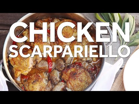 How to Make Chicken Scarpariello (Italian Sweet and Sour Chicken With Sausage)