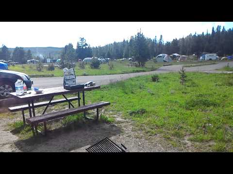 Yellowstone camp