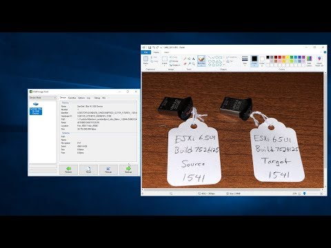 USB Image Tool for Windows easily backs up and restores complete VMware ESXi installed on USB or SD