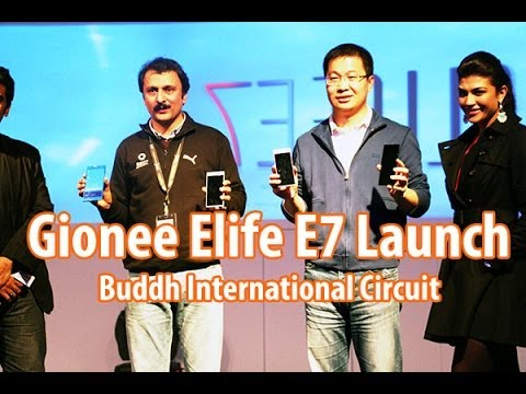 Gionee Elife E7 Launch