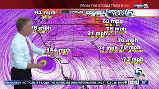 11 p.m. update: Category 3 Hurricane Irma bringing life-threatening storm to Keys