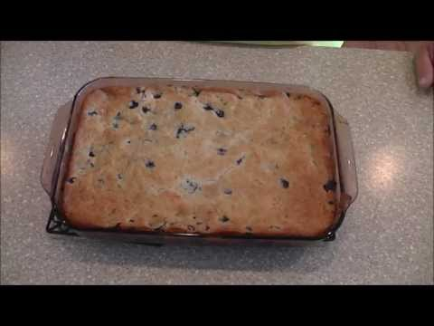 How to Make Blueberry Cobbler Quick and Easy Recipe