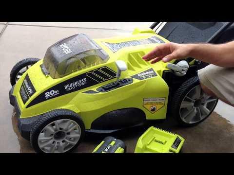Ryobi 20-inch 40-volt Cordless Mower Review
