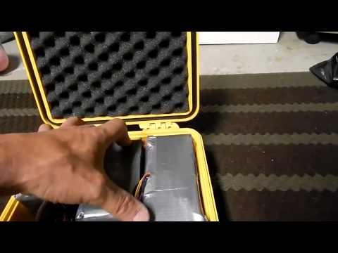 Pelican Case 1200*69v lifepo4 battery*