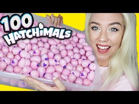OPENING 100 HATCHIMALS! $200 Hatchimals CollEGGtibles!! LIMITED, RARE, SUPER RARE FINDS