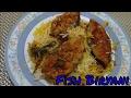 Fish Biryani - Very easy and quick recipe
