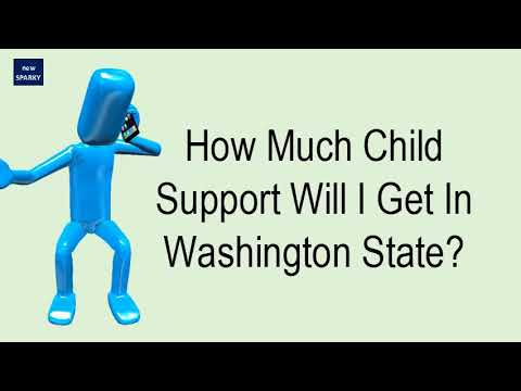 How Much Child Support Will I Get In Washington State?
