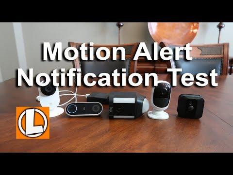 Motion Alert Notification Test - Blink, Reolink Argus, Nest, Ring, Yi WiFi Cameras