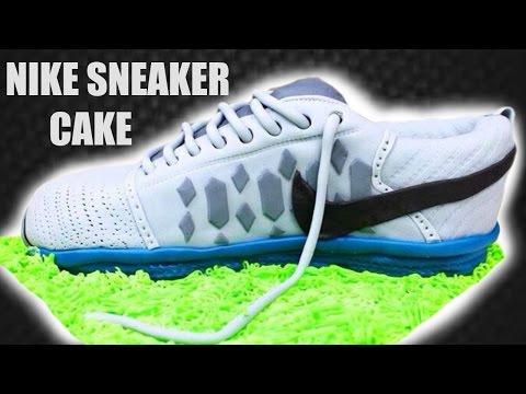 NIKE SNEAKER CAKE: TUTORIAL | Marcos Soler