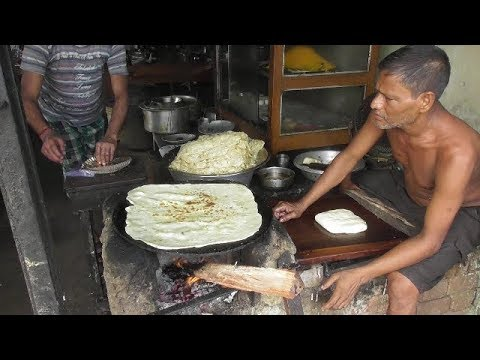 Xxx Mp4 Big Size Paratha Rare Indian Street Food Old Man Making Petai Paratha Village Food At Street 3gp Sex