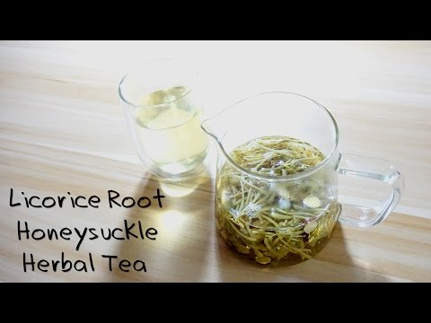 Herbal Tea-Licorice Root Honeysuckle Tea