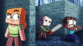 Minecraft | MURDER MAZE - How to Kill Jason! (FRIDAY THE 13TH MOD)