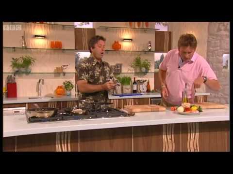 Halibut with Chorizo & Butter Beans part 1 - Saturday Kitchen - BBC