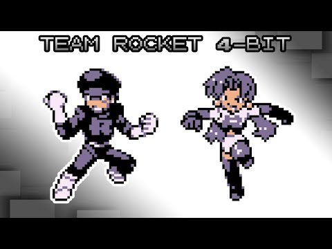 Pokemon Red, Blue and Yellow - Battle! Team Rocket Music [4bit]