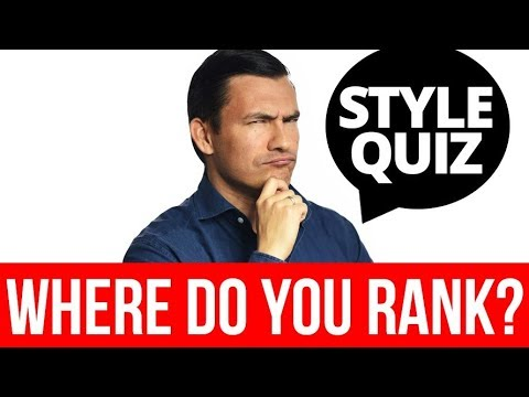 STYLE QUIZ: 10 Questions   How Stylish Are YOU?