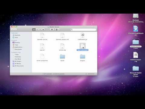 How To Make A Bukkit Server On A Mac!!