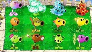Plants vs Zombies 2: Mod All Pea Pvz2 vs Dr. Zomboss Fight!