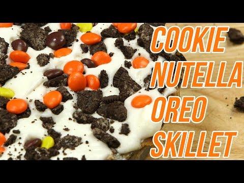 Cookie Nutella Oreo Skillet