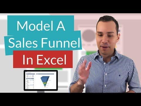 Sales Funnel Excel Spreadsheet Tutorial - (Sales Pipeline Modeling)
