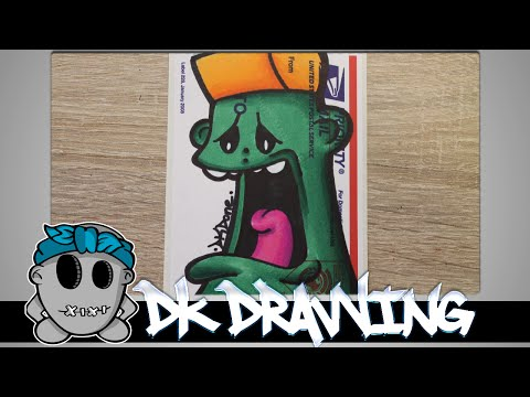 Graffiti Tutorial for beginners - How to shade with sharpies #9