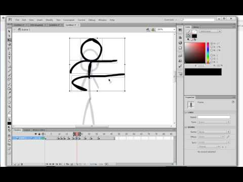 ALAN BECKER - Stick Figure Animation 3 - Object Drawing