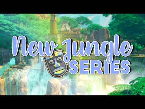 NEW JUNGLE ADVENTURE SERIES ON ME AND MY FIANCE'S CHANNEL!🌴🍃