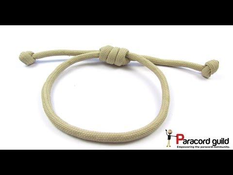 Hangman's noose paracord bracelet/hair strap