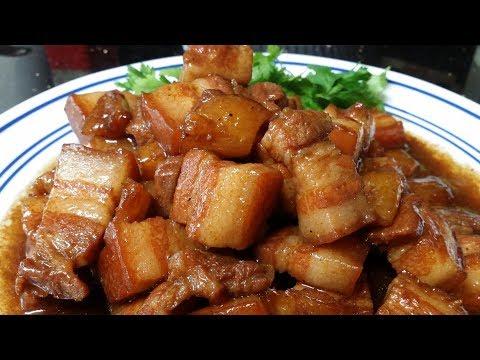 No Sweat Pork Belly Hamonado Recipe