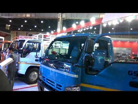 SML Isuzu Global Series trucks ( Samrat GS HD19, Sartaj GS CNG Turbo, and Samrat GS Tipper Chassis )