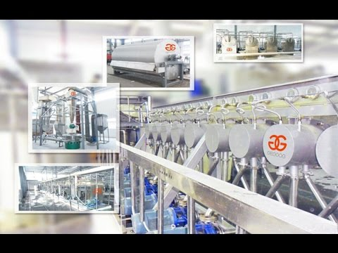 GELGOOG® Potato Starch Production Line|Potato Starch Making Machine|Potato Starch Line