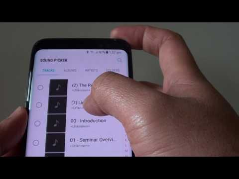 Samsung Galaxy S8: How to Change Ringtone Sound