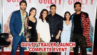 GUILTY Trailer Launch | Kiara Advani, Karan Johar, Akansha Ranjan Kapoor | COMPLETE EVENT