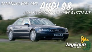 Download I Drive the ″Ronin″ Audi S8! (2000 Audi D2 S8 Review) Video