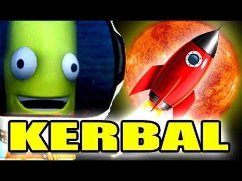 TRAVELING TO THE SUN! - Kerbal Space Program Gameplay 2