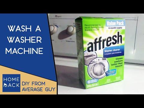 Washer machine maintenance   washing a washer machine