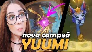 Download NOVO TEASER DA NOVA CAMPEÃ YUUMI - LIVRO DOS PORTAIS ! Video