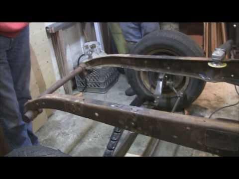 1927 StudeBaker Rat Rod - Front Spring Mounts