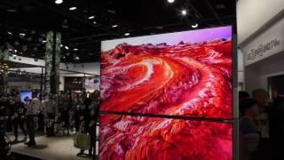 LG Super UHD TV mit Nanozellen CES 2017