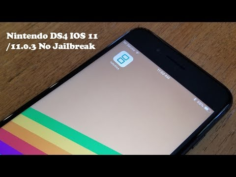New Install Nintendo DS Emulator IOS 11/11.0.3 FREE NO Jailbreak-Iphone 8/8Plus/X/7/7Plus