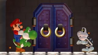 What happens when Yoshi enters the Castle?