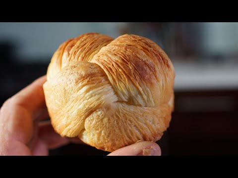 Brioche Feuilletée / Puff Pastry Brioche – Bruno Albouze – THE REAL DEAL
