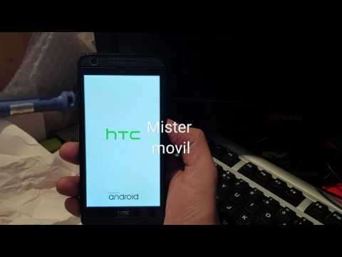 how to hard reset htc desire 626