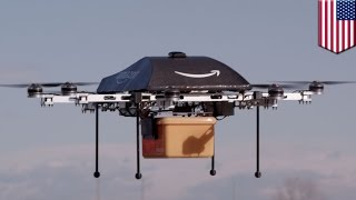 Amazon Prime delivery drones might be docking on lamp posts, power poles, cell towers - TomoNews