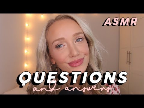 ASMR Q/A (Fav Clothes, Eating Meat, Weight Loss...) | GwenGwiz
