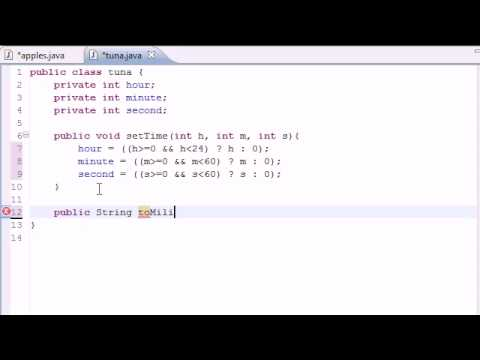 Java Video Tutorial Part 36 |  Time Class