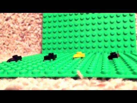 How to make a Lego mini penguin