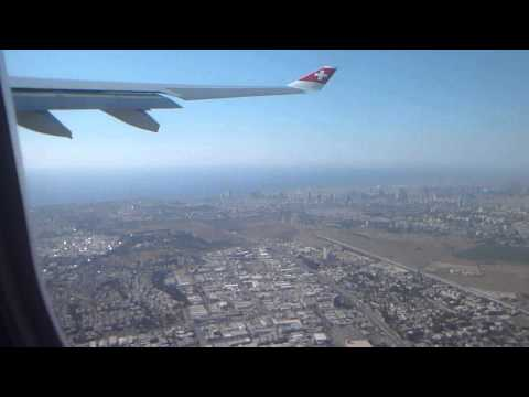 TAKE OFF TEL-AVIV AIRBUS A330 BEN GURION DECOLLAGE AIRPORT AEROPORT