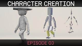 Blender Character Creation: Rigging 1/2